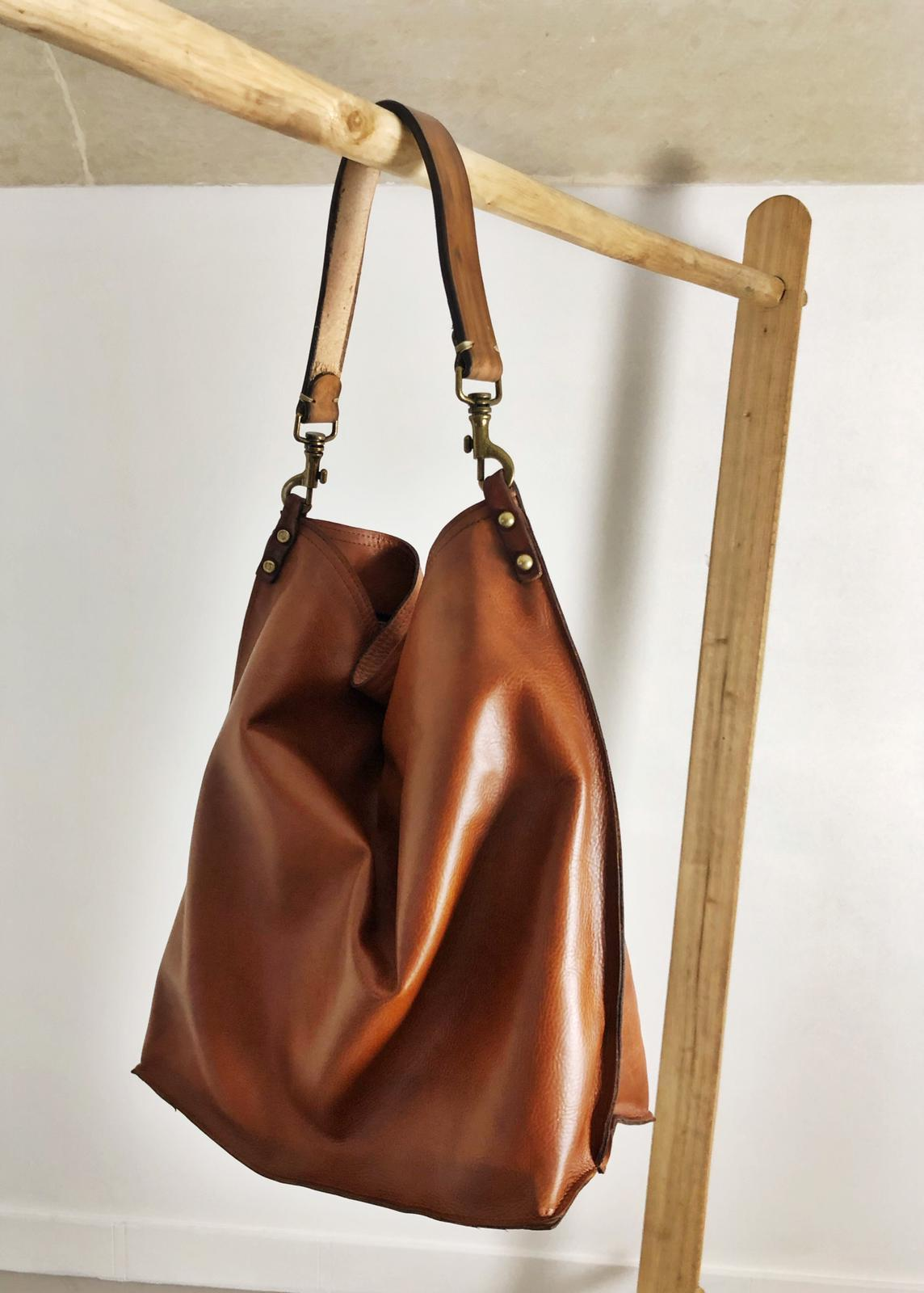ALLEGRA BAG handmade leather bag image 3