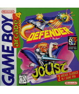 Arcade Classic 4 Defender/Joust Gameboy Great Condition Fast Shipping - $6.58