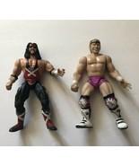 "Lot Of 2 Jakks Pacific WWF Attitude Era 6"" Action Figures X-Pac Billy Gunn 1998 - $10.49"