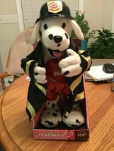 Flirty Flashers Canine K- 9 Fire Department In Original Box Vintage     ... - $18.81