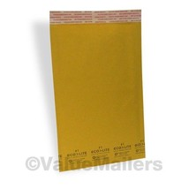 200 Eco-Lite Kraft Bubble Mailer Combo Pack - 100 #1 & 100 #2 - Envelopes - $36.95
