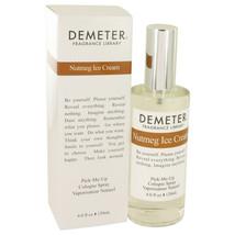 Demeter Nutmeg Ice Cream by Demeter 4 oz Cologne Spray for Women - $28.70