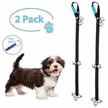 Dog Bells for Potty Training 2 Dog Training Bells for Door Loud Dog Door... - $11.27 CAD