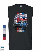High Performance 1969 Shelby GT500 Muscle Shirt Ford Mustang Cobra Sleev... - $12.63+