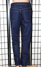 """GAP ORIGINAL Women's Size 12 Dark Wash Straight Ankle Cotton Jeans 28"""" Inseam - $29.02"""