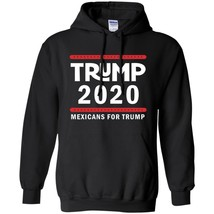 Mexicans for Trump 2020 Campaign Long Sleeves Black Navy Color Full Size... - $39.55