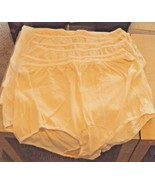 Six Dixie Belle Lingerie 100% Cotton Briefs Size 12 Beige - $17.28