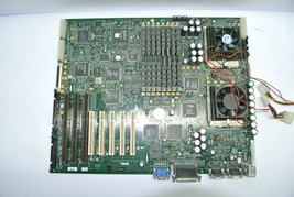 Vintage Dell PowerEdge 4100 System Board 80823 w/ 2x Pent Pro 200MHz 256... - $67.49