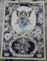 Vtg 1979 Fairy Magic Large Calendar 20 x 14 Bill Lyn Peeple  Green Tiger... - €26,95 EUR