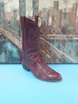 UNKNOWN  Brown  Cowboy Boots Size 9  Style 6527 WESTERN, Mens - $46.74