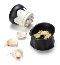 Garlic Twist Crusher Herbs Fruit Novelty Penguin Cutting Dicing Mincing ... - $29.27