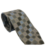 Kenneth Cole Reaction 100% SILK Neck-Tie Sky Blue, Coffee & Chocolate Brown - $15.86