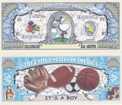 It's a Boy! Birth Announcement Keepsake Bill #157 - $0.99