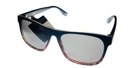 Converse Matte Black Mens Sunglass Rectangle Plastic, Smoke Gradient Lens H093 - $22.49