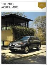 2013 Acura MDX sales brochure catalog US 13 Honda - $8.00