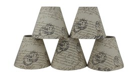 Urbanest Natural Linen 3-inch by 6-inch by 5-inch Linen Chanderlier Lamp... - $34.64