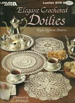 Elegant Crocheted Doilies Leisure Arts Leaflet 972 - $6.99