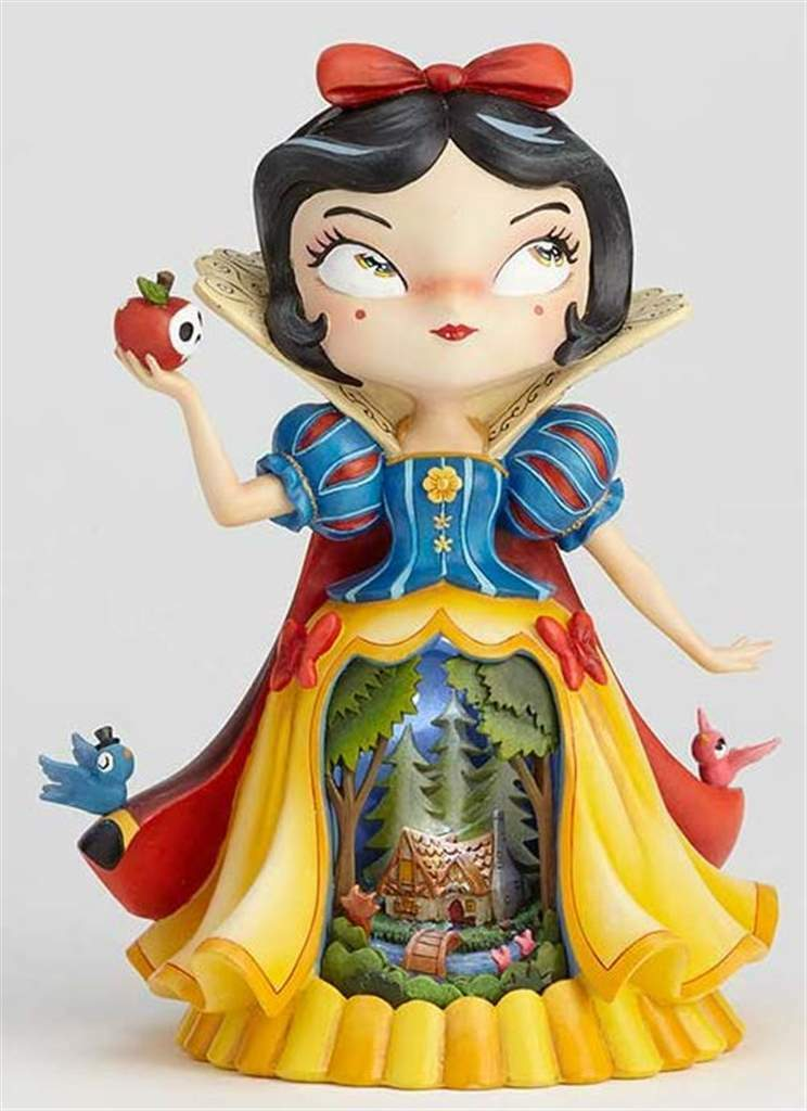 "Primary image for The World of Miss Mindy- 9"" Tall Snow White Stone Resin Figurine"