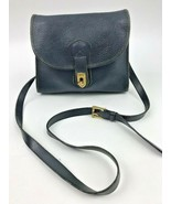 Dooney & Bourke All Weather Black Leather Purse Cross Body Pebbled Solid... - $48.37