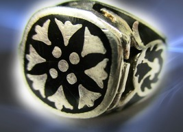 CASSIA4 HAUNTED POISON RING 7,000 SEAL OF THE SUN MAGICK MAGNIFICENT COLLECTION - $333.77