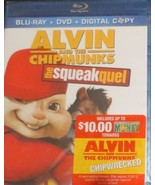 Alvin and the Chipmunks: The Squeakquel (Blu-ray/DVD, 2010, 3-Disc Set,... - $10.67