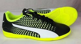 Puma Kinder Schuhe Adreno III It Laufen Sneakers Junior Schwarz Weiß Gel... - $35.36