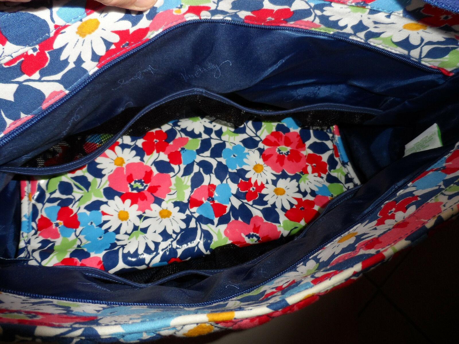 Vera Bradley Summer Cottage patchwork Medley baby tote bag image 5