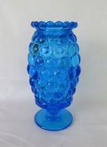 Westmoreland, Fairy Lamp, Thousand Eye, Blue, TE-23, c. 1970's - $44.00