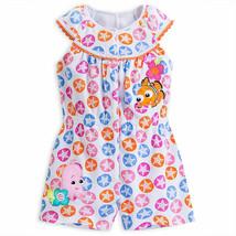 "Disney Store Baby Girls Nemo - Finding Nemo - ""Seaside Fashion"" Knit Romper - $24.00"