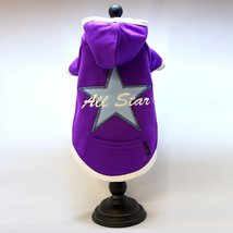 Alphadog Series All Star Embroidery Hooded (Hoody) T-Shirt with pocket f... - $12.45