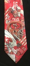 San Francisco 49ers NFC 1990 Necktie Tie, Ralph Marlin, polyester football - $14.84
