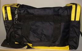 Medium Gym Bag Duffel Workout Sport Bag Travel Carry on Bag Black and Ye... - $14.85