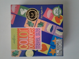 eeBoo Color Dominoes Travel Game - $8.00