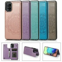 For Samsung S21 S20 Ultra Note 10 A51 A71 Magnetic Wallet Leather Flip Cover - $58.88