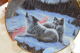 1994 Winter's Dawn The Call of The North by J. Tift Hamilton Collection Plate - $19.60