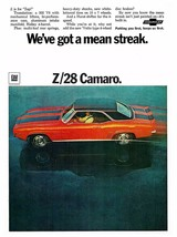 1969 Chevrolet Camaro Z28 zap | 24 x 36 INCH POSTER | sports car - $18.99