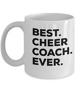 Cheer Coach Mug - Best Cheer Coach Ever Coffee Cup - Cheer Coach Gifts - $14.65