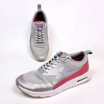 Nike Air Max Womens Size 6.5 Thea Premium Running Shoes Silver 616723-016 - $27.55
