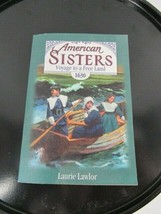 """""""American sisters voyage to a free land 1630"""" paperback book 1999 - $1.95"""