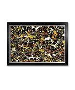 IPIC - Abstract Jackson Pollock Style Artwork. Giclee Print on Canvas Wa... - $129.84