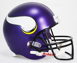 Minnesota Vikings Riddell Deluxe Replica Helmet**Free Shipping** - $118.50