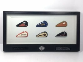 Harley Davidson MINI GAS TANK COLLECTION Dealer Wall Display Walters Bro... - $71.25