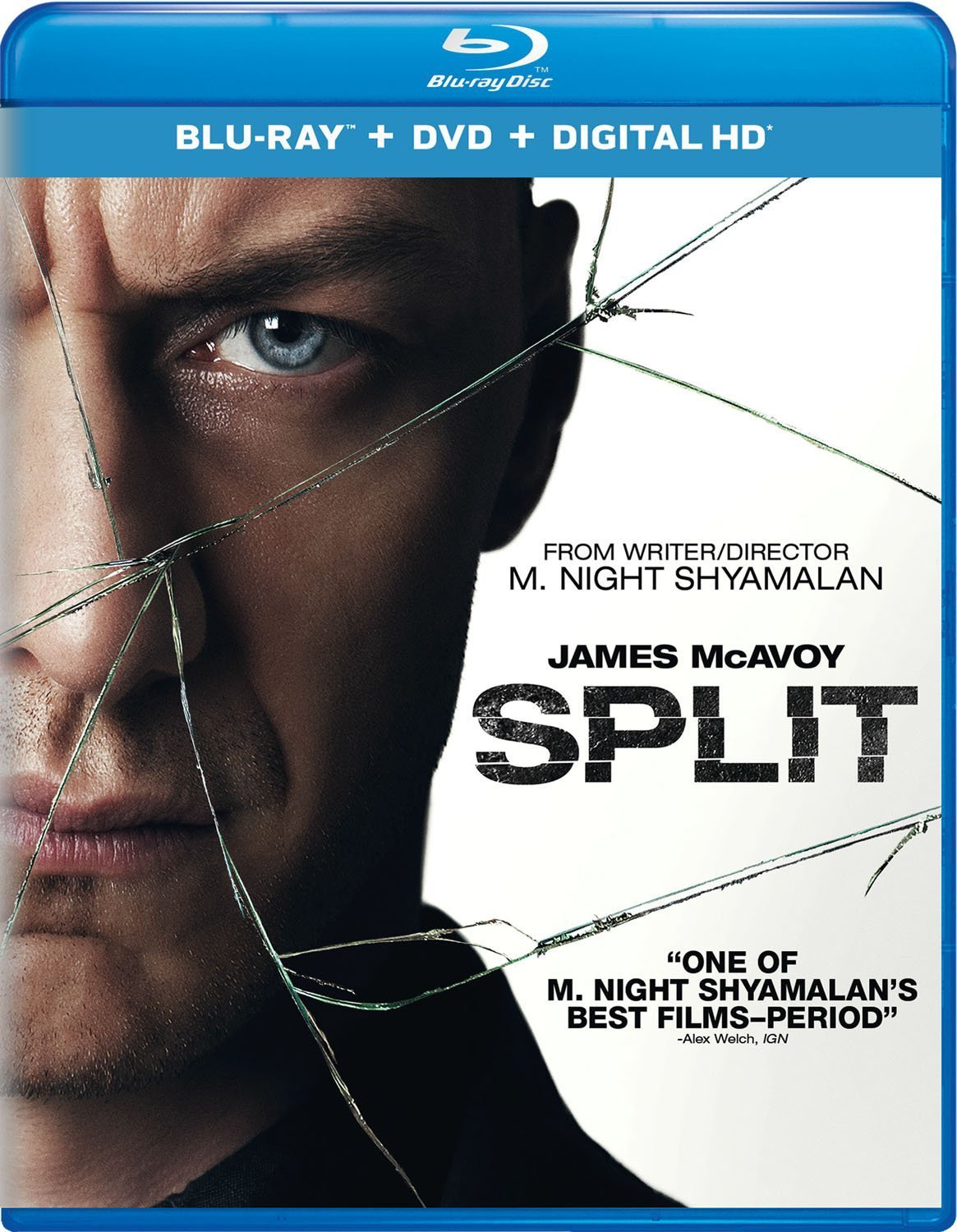 Split (2017, Blu-ray/DVD + Digital)