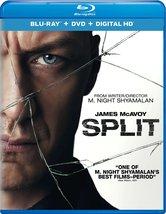 Split (2017, Blu-ray/DVD + Digital)