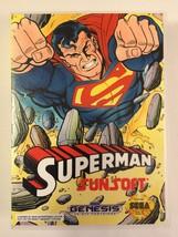 Superman - Sega Genesis - Replacement Case - No Game - $7.91