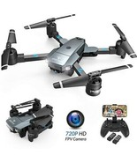 SNAPTAIN A15 Foldable FPV WiFi Drone W/Voice Control/120°Wide-Angle 720... - $175.78