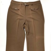 DRESSBARN Women's Classic Fit Career/Dress Pant Polyester Blend Size 12 EC image 4