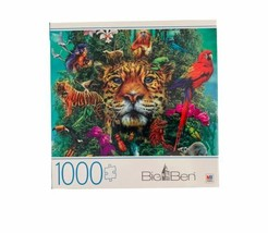 """BIG BEN  1000 PIECE JIGSAW PUZZLE  """"King Of The Jungle"""" SEALED - $25.99"""
