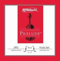 10 Prelude Viola String Sets Short Scale Medium Tension J910 SM-B10 - $19.57