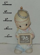 1996 Precious Moments Enesco Peace On Earth...Anyway Figurine #183342 HTF - $32.73